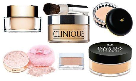 Tipos de polvos de cara: usos y diferencias
