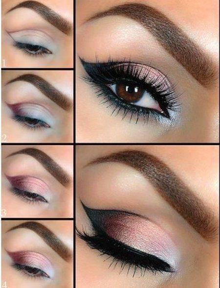 maquillajes de noche con un toque suave