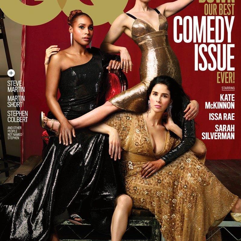 La portada de GQ que parodia el Photoshop de Vanity Fair en las fotos de las modelos